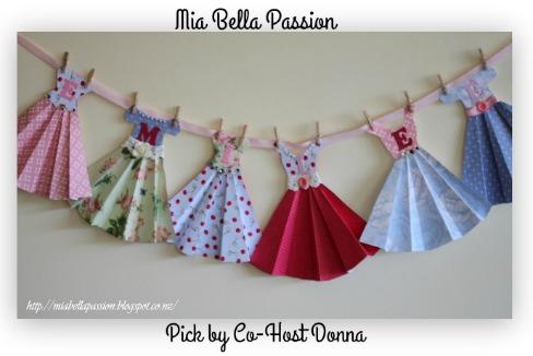 Mia Bella Passion-Paper-Dress-Bunting