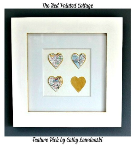 Heart Map Frame Pictures