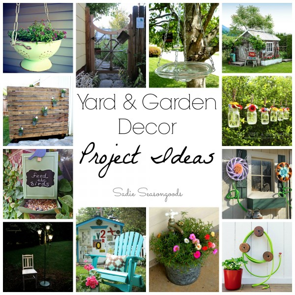 20 Fun & Functional Garden Décor Project Ideas