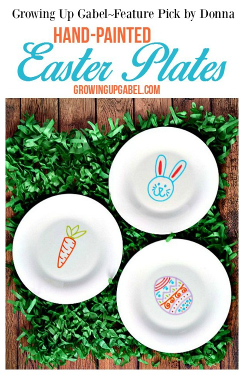 Hand-Painted-Easter-Plates
