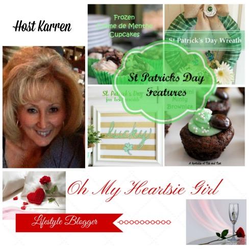 St Patricks Day Feautres-Oh My Heartsie Girl