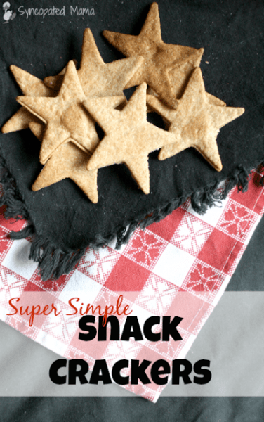 Super Simple Snack Crackers Title 2