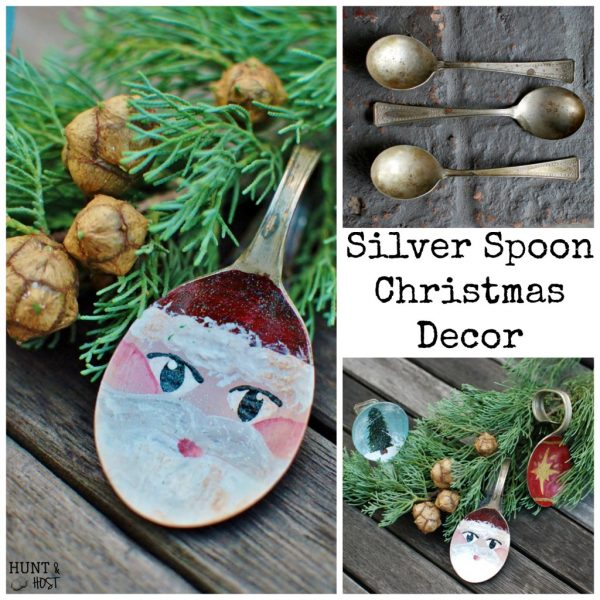 Silver Spoon Santa-Hunt and Host