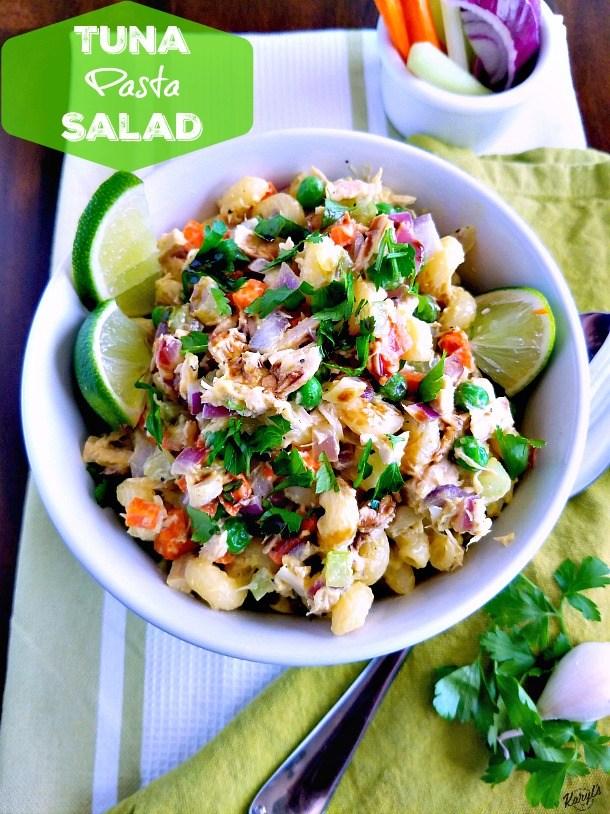 Karyl's Kulinary Krusade Tuna-Pasta-Salad