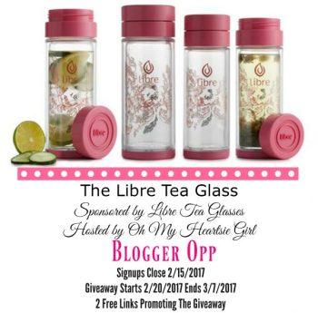 Libre Tea Blogger Opp
