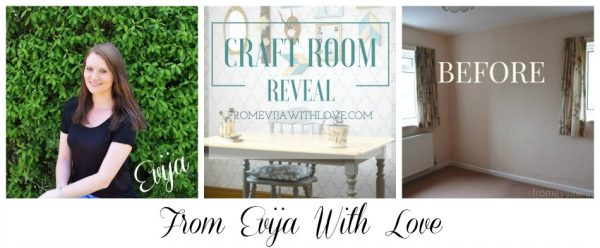From Evija With Love Craft Room Reveal On A Budget