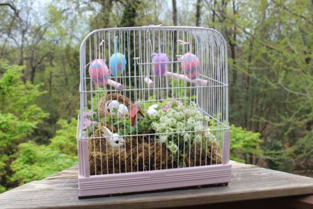 Vintage Southern Picks Easter Birdcage Better than a basket