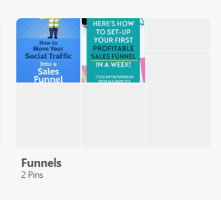 pinterest marketing empty boards