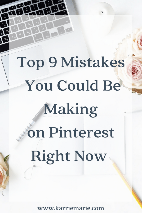 pinterest mistakes you could be making