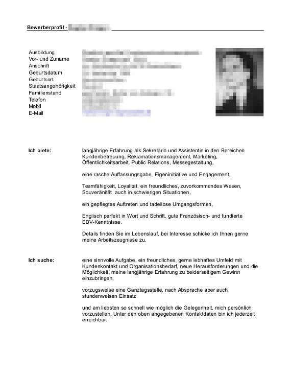 Bewerbungsflyer Kandidatenkick fr Jobmessen