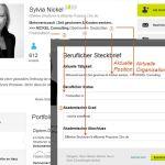 XING: Beruflicher Steckbrief (c) Sylvia Nickel