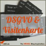DSGVO und Netzwerken © Sylvia NiCKEL