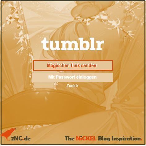 Passwörter und »magischer Link«