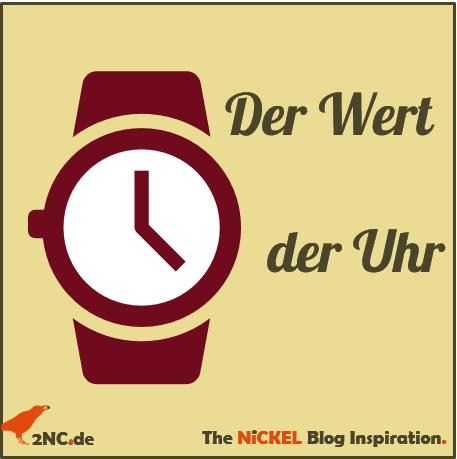 Der Wert der Uhr © Sylvia NiCKEL