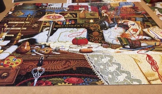 puzzle done