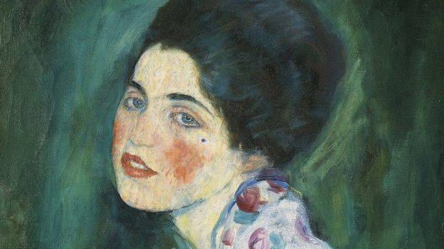 Portrait of a Lady by Klimt