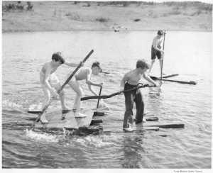 Dad on a raft - TPL file