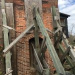 Cotton Gin Building from 1800s with Hurricane Protection