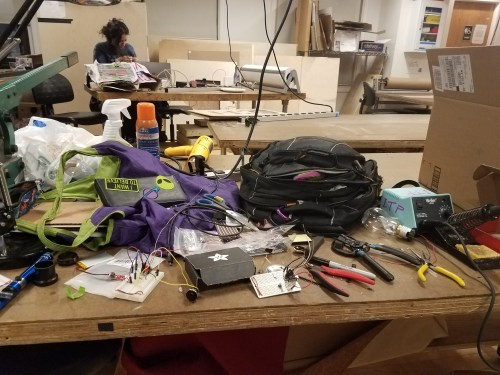 Building the inner electronics component