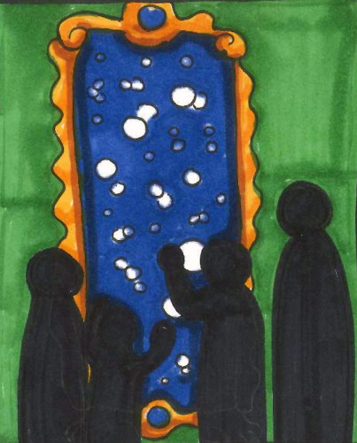 ...A Glimpse into the Multiverse in the Multiverse Mirror