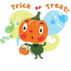 Trick or Treat! by Lyuda Lavrentyeva