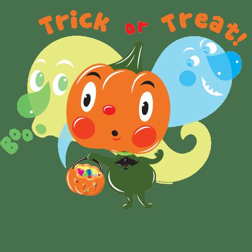 Trick or Treat! by Lyuda Lavrentyeva