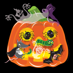 Great Pumpkin by Lyuda Lavrentyeva