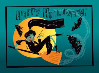 Happy Halloween! by Lyuda Lavrentyeva