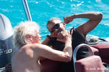 Barack Obama Richard Branson