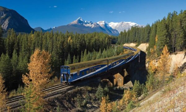 Travel Agent 8. Rocky Mountaineer