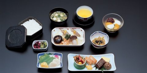 JAL Business Class Inflight Meal