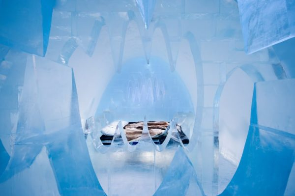 The Icehotel - Art Suite