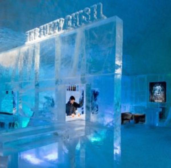 The Icehotel - Icebar
