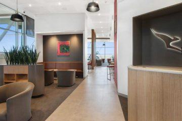 Qantas Lounge 1