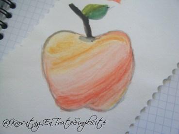 Jour 20 - Une pomme