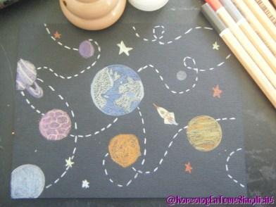 Jour 28 - Les planètes, l'espace