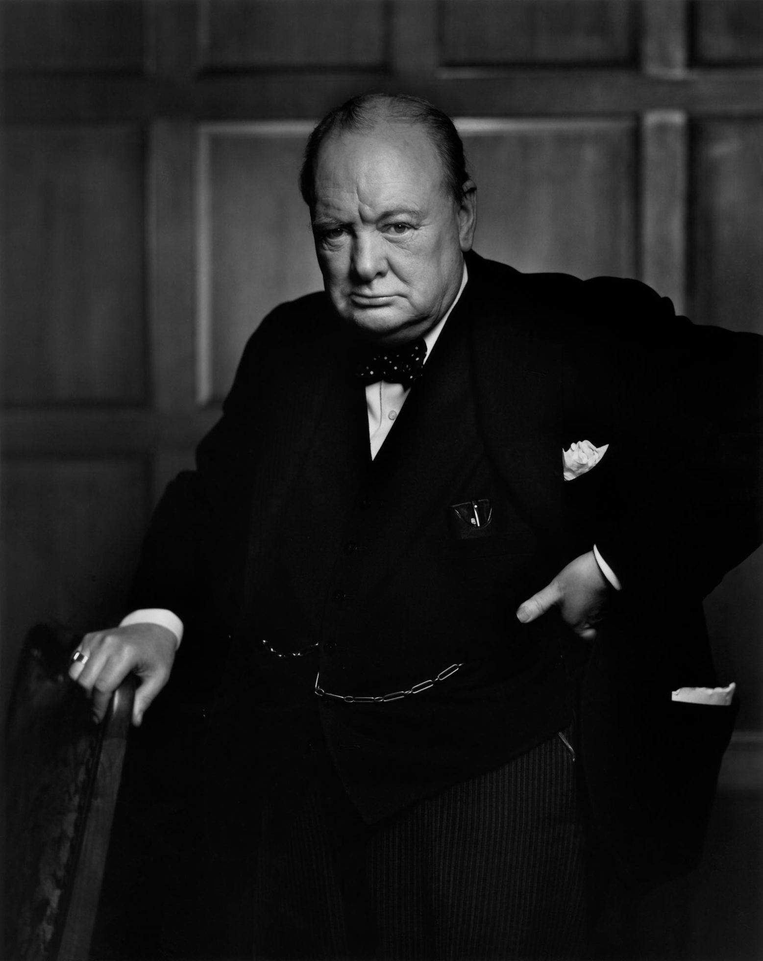Winston Churchill Portrait Painting : winston, churchill, portrait, painting, Winston, Churchill, Yousuf, Karsh