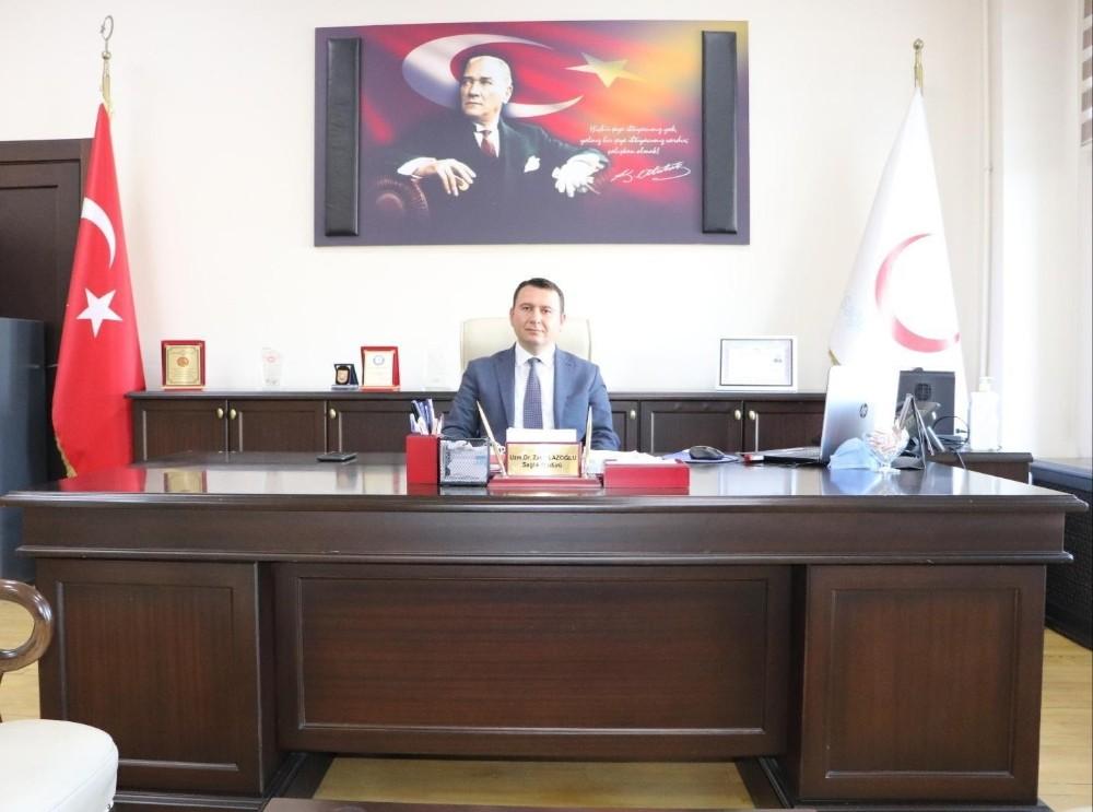 Kars Sağlık Müdürü Lazoğlu, sağlık çalışanlarının tıp bayramını kutladı