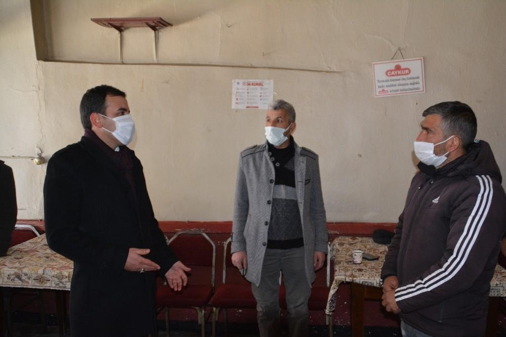 Sarıkamış'ta geniş kapsamlı Pandemi denetimi