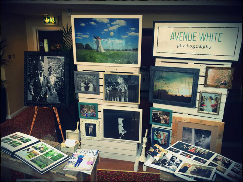Photo of Avenue White Photography banner design.