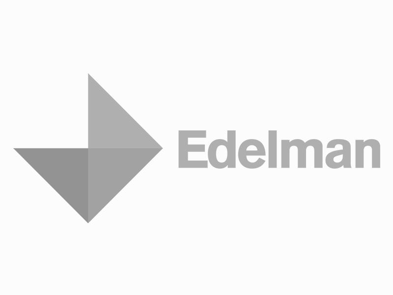 Screenshot of Edelman logo.