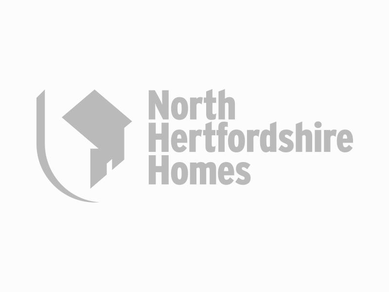 North Hertfordshire Homes logo.