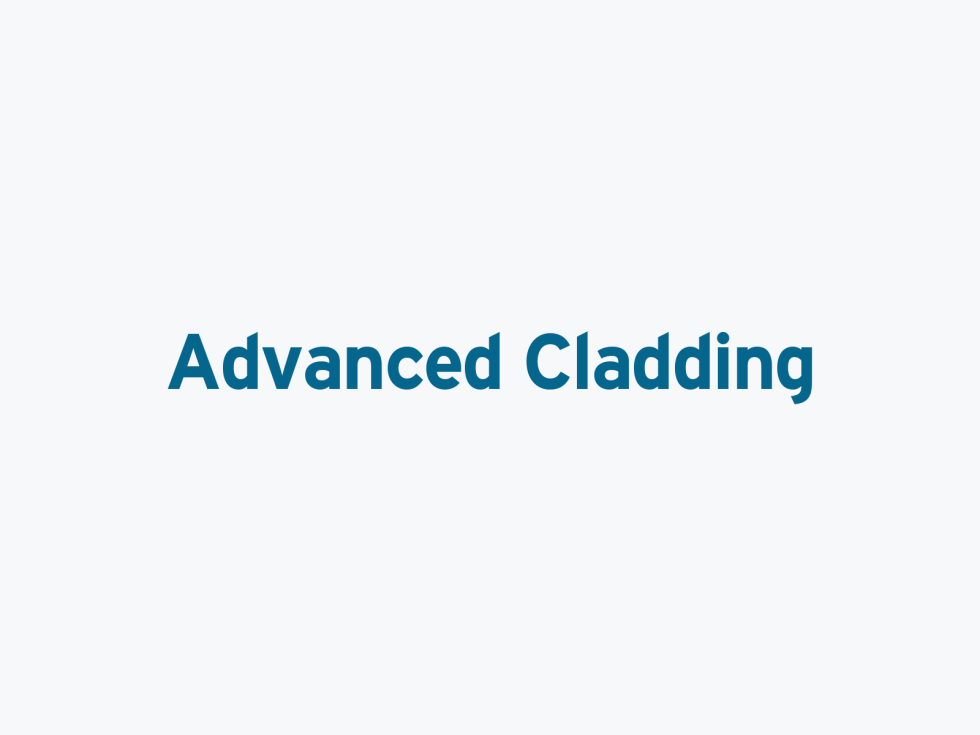 Screenshot of Advanced Clading, Harrogate logo design.
