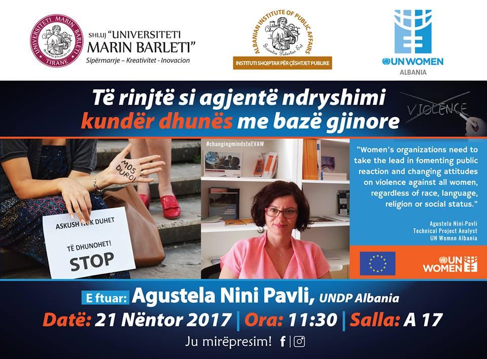 """Auditor i hapur: """"Të rinjtë si agjentë ndryshimi kundër dhunës me bazë gjinore """""""