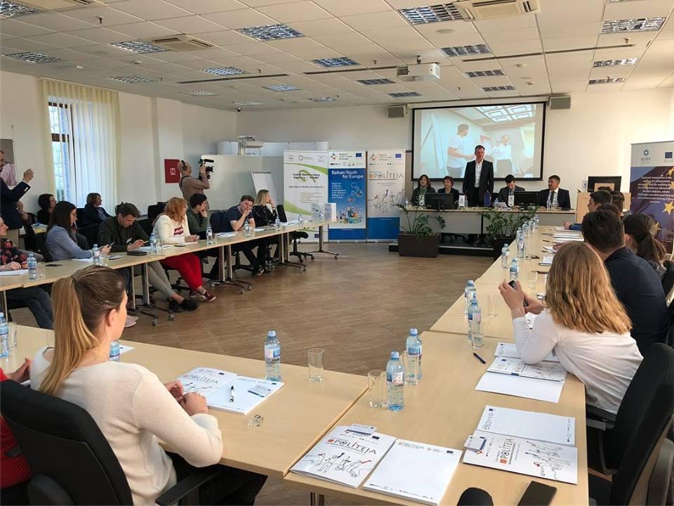 """Hapja zyrtare e Shkollës Rajonale """"Politea"""", Angazhimi i të rinjve në Ballkanin Perëndimor"""