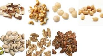Οι 7 πιο υγιεινοί ξηροί καρποί – Θερμίδες & διατροφική αξία