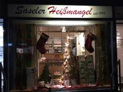 Kartenausstellung in der Saseler Heissmangel, Hamburg Sasel