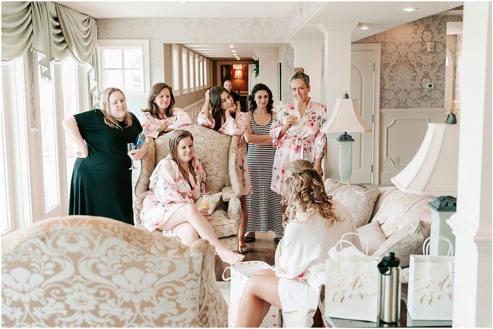 Capturing the bridal prep at this Mallard Island Yacht Club Wedding