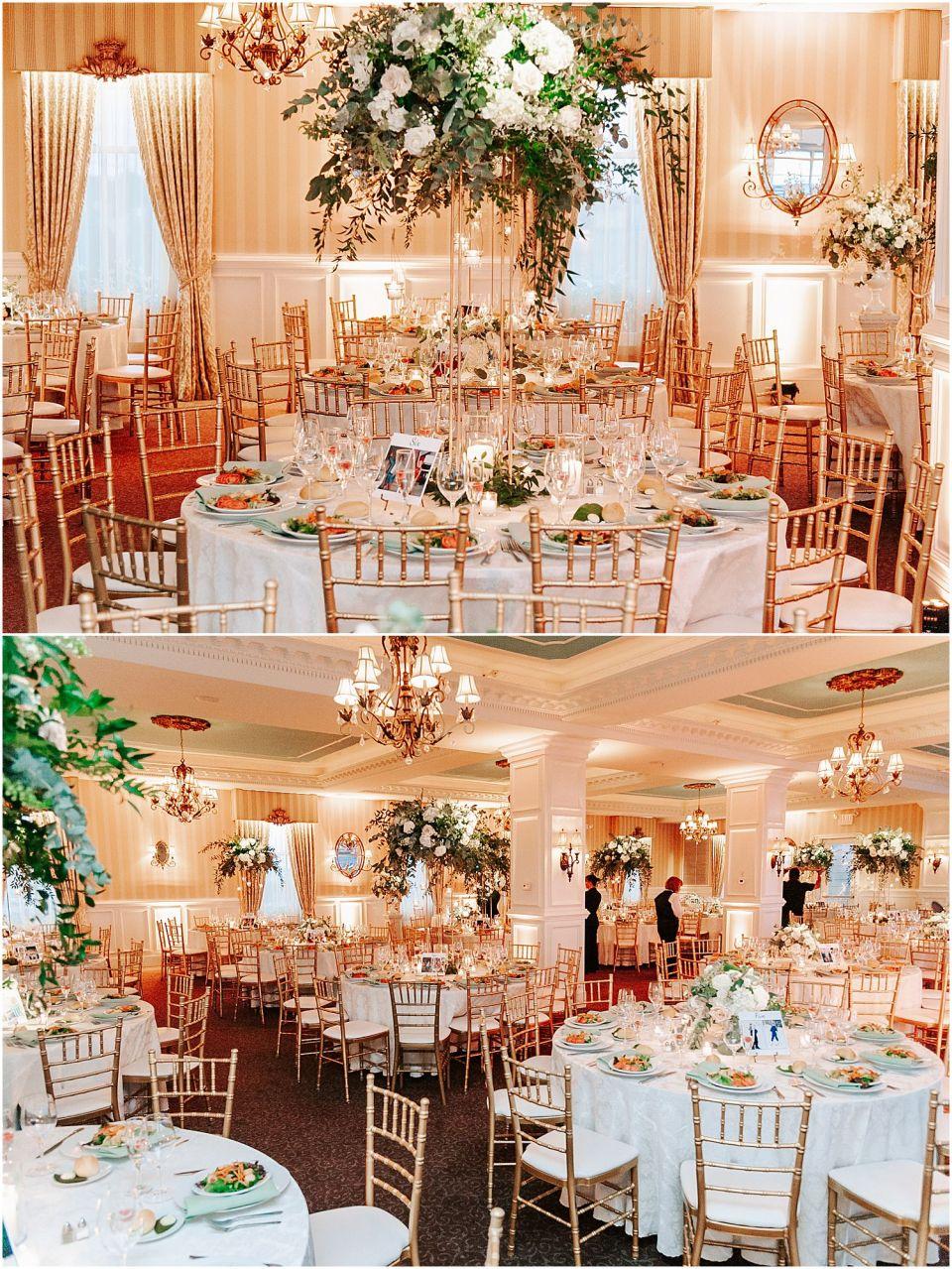Capturing the lovely reception setup at this Mallard Island Yacht Club Wedding