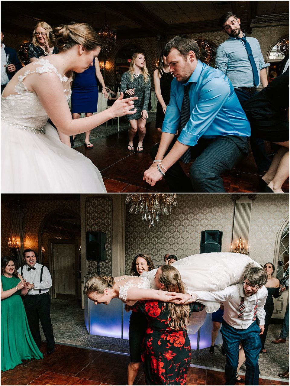 Party Dancing at the Madison Hotel wedding venue
